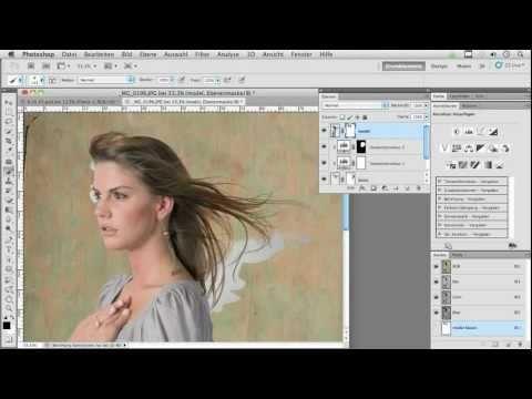 Adobe Photoshop Tutorial - Überlagern statt freistellen mit Pavel Kaplun (DiePhotoshopProfis)