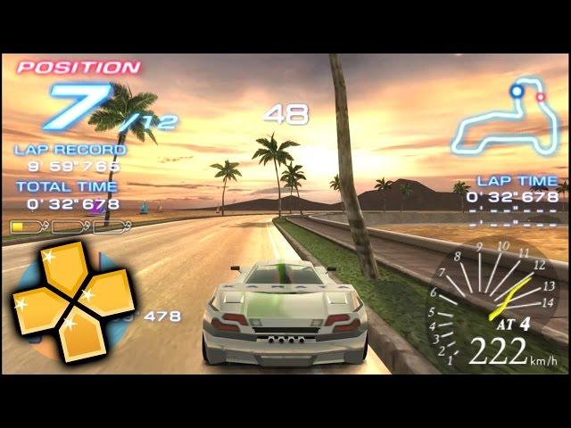 Ridge Racer 2 PPSSPP Gameplay Full HD / 60FPS