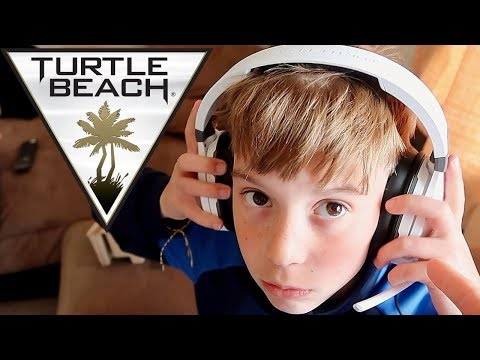 🎧KID GETS NEW TURTLE BEACH GAMING HEADSET!!🎮