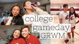 Zapętlaj WSU COLLEGE GAMEDAY GRWM & JAX + VLOG | Taylor Madison