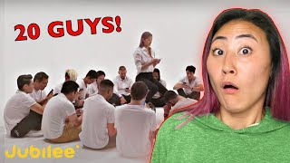 1 GIRL SPEED DATES 20 GUYS - JUBILEE REACT