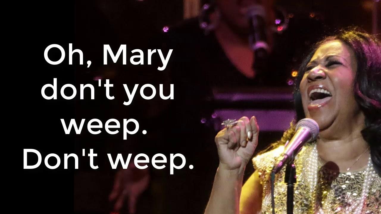 The Top Aretha Franklin Gospel Songs! - Lyric Video