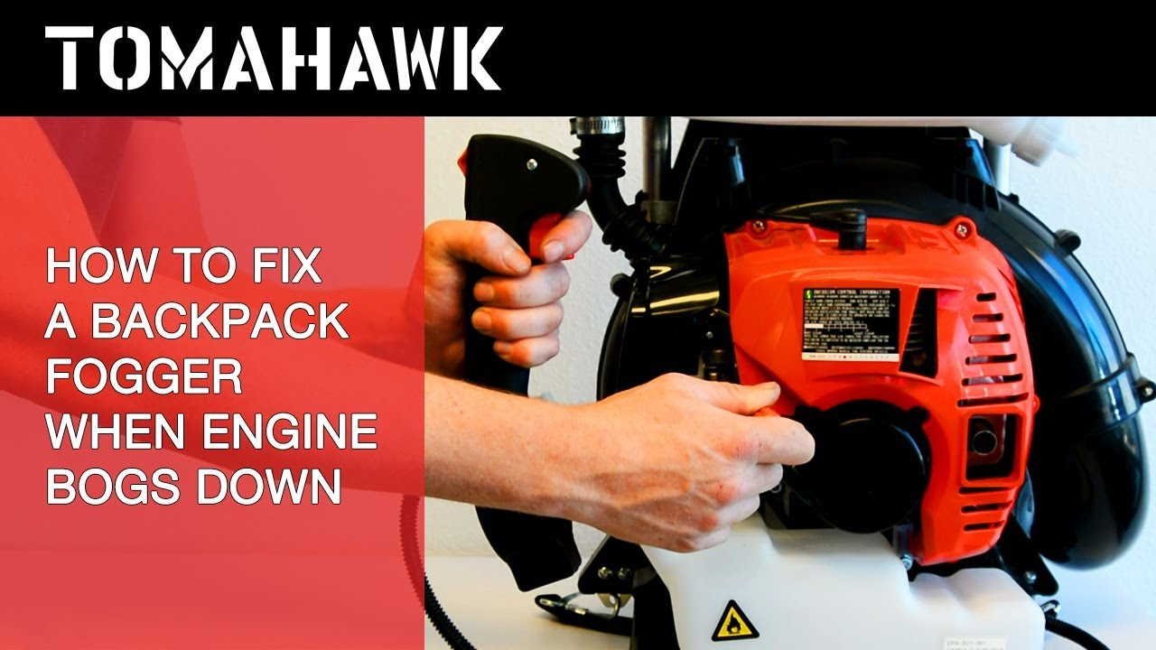 HOW TO: Fix Tomahawk Fogger's 2 Stroke Engine from Bogging Down