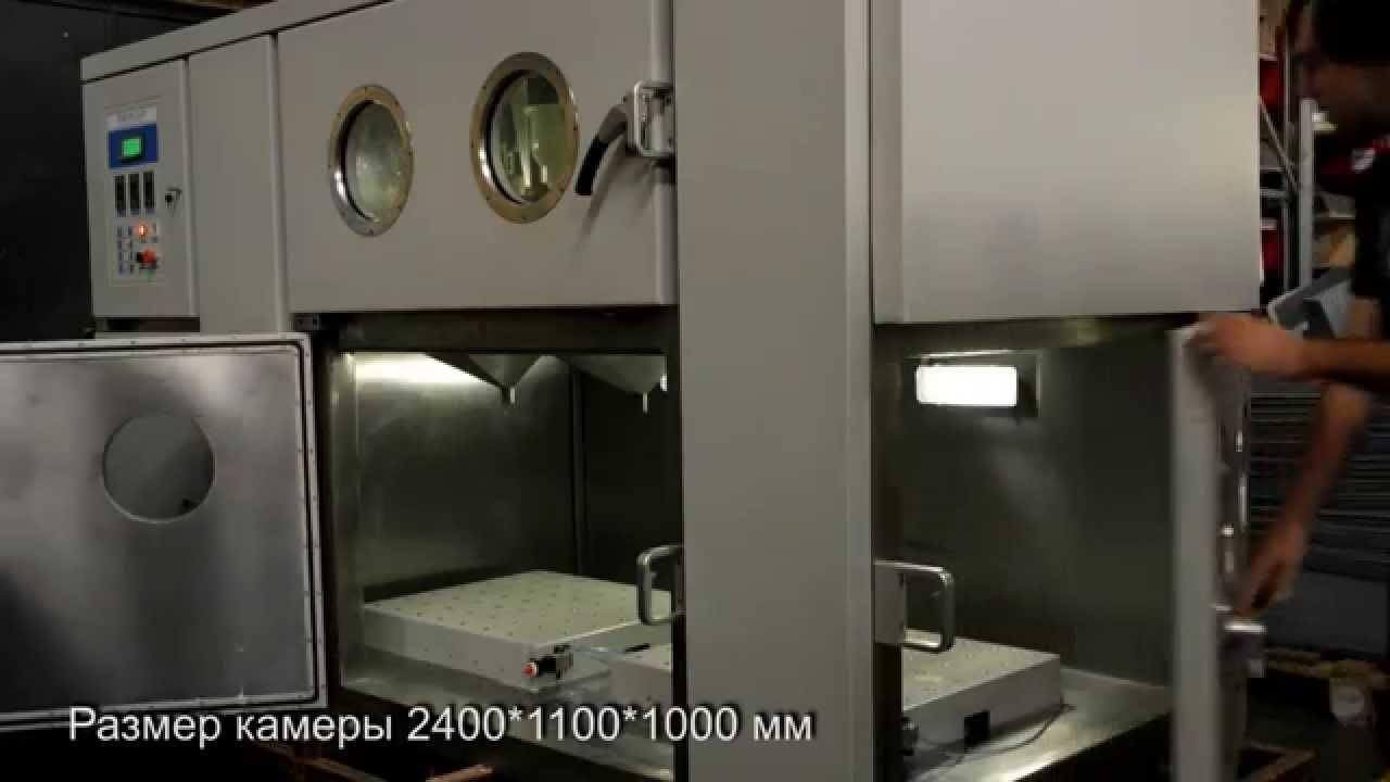 Камера изготовления литьем в вакууме крупных деталей