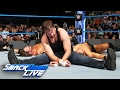 Dean Ambrose vs. AJ Styles vs. The Miz vs. Baron Corbin Fatal 4 Way SmackDown LIVE, Feb. 7, 2017