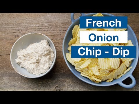 🔵 How To Make French Onion Chip Dip From Scratch Recipe || Glen & Friends Cooking