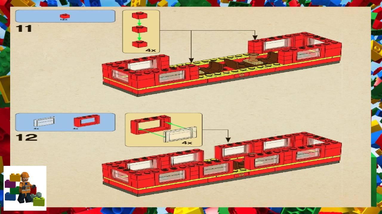 Lego Instructions Harry Potter 4841 Hogwarts Express Book 2