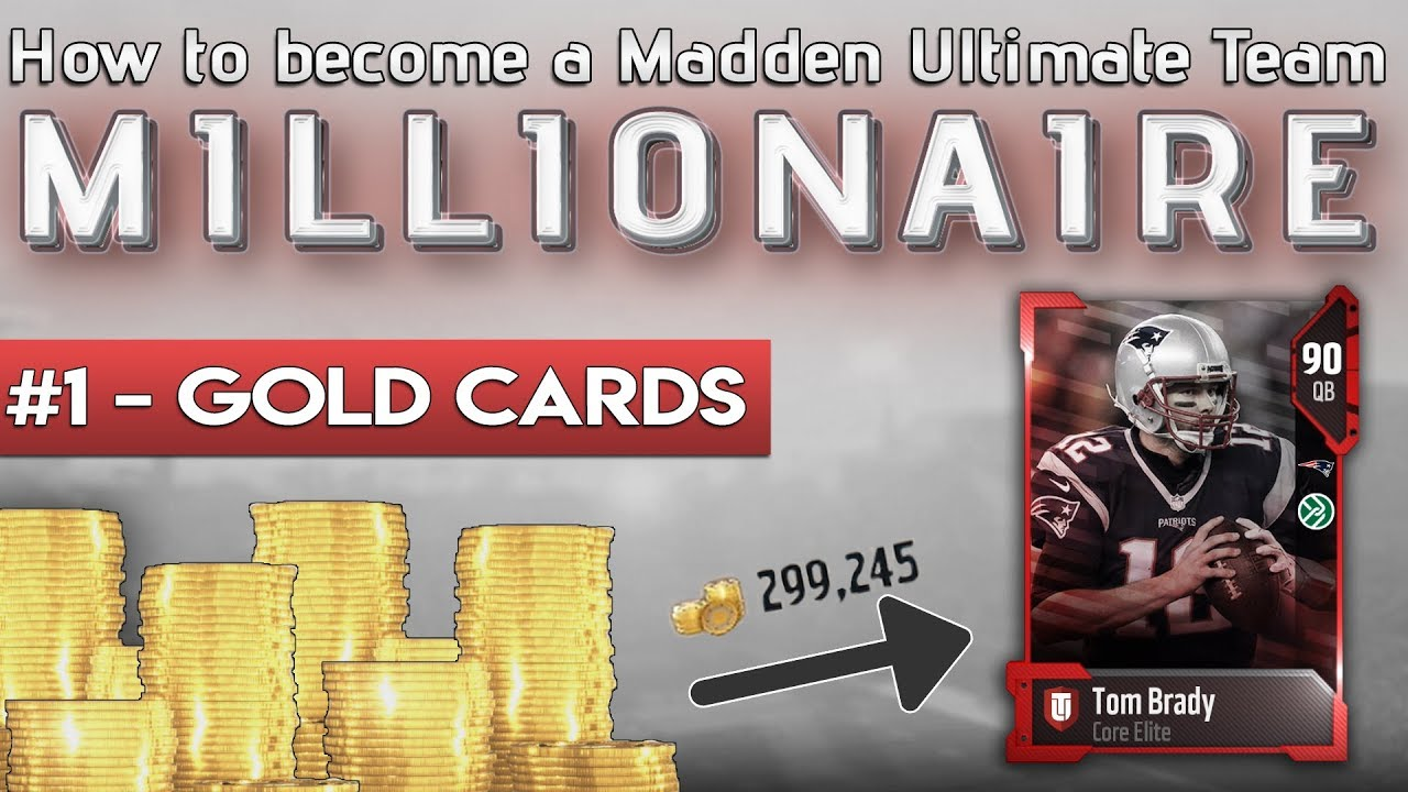 Become a gold millionaire