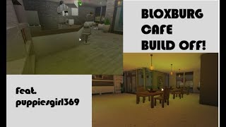 BLOXBURG CAFE BUILD OFF! | Roblox