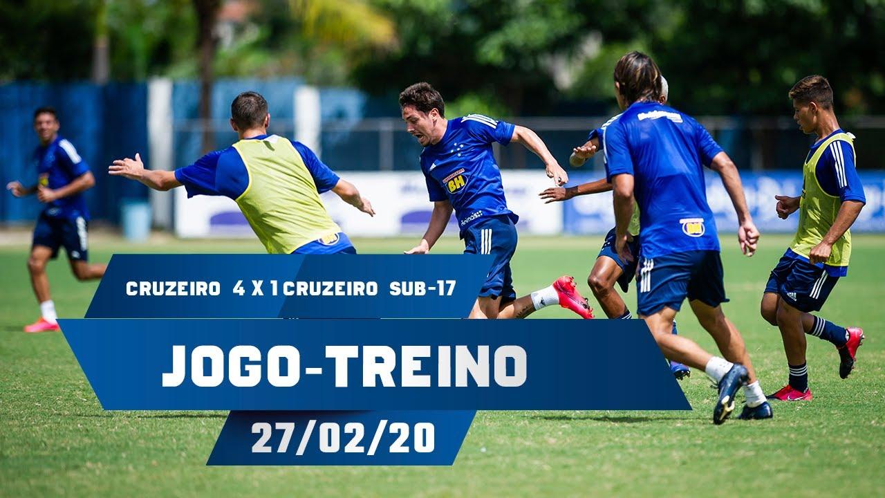 Jogo Treino Cruzeiro 4 X 1 Cruzeiro Sub 17 Youtube