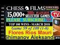 Top 100 Wins - March 2018 (#59 of 100): Flores Rios Mauricio vs. Shimanov Aleksandr