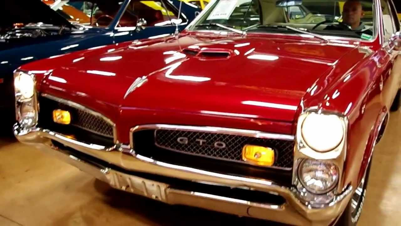 1967 Pontiac Gto Candy Apple Red Www Fastlanecars Com