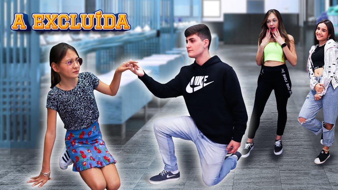 O ALUNO NOVO! - A EXCLUÍDA EP. 04 ( WEBSÉRIE BIANKINHA )