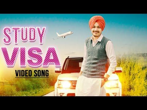 New Punjabi Song 2017 | Study Visa | Gurdil | Jas Khroud | Love Puhla | Major Media | Yellow Music