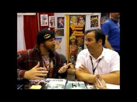 The Milo Beasley Show episode 48 featuring Jimmy Palmiotti (Harley Quinn comics) and Brian Pulido!