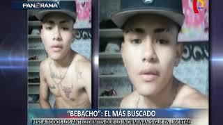 'Bebacho': delincuente más temido del momento sigue en libertad