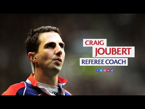 Craig Joubert tackles referee coaching