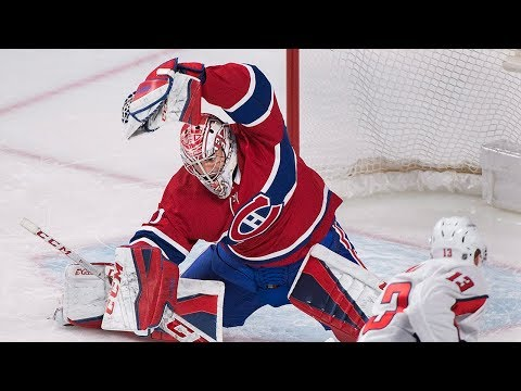 Carey Price Late Game Unbelievable Saves