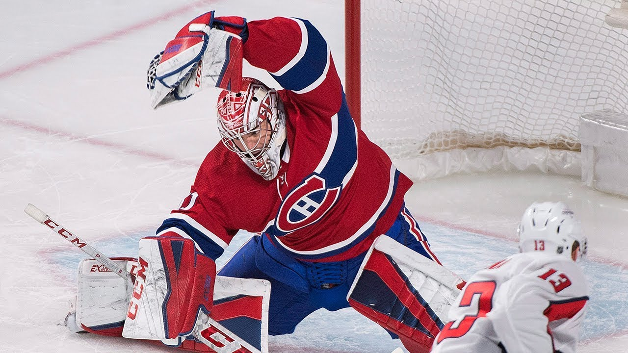 Carey Price Late Game Unbelievable Saves - YouTube