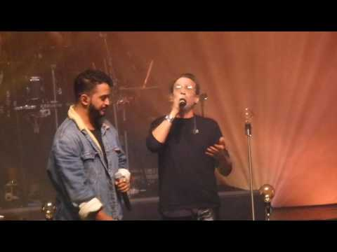 Slimane à la Cigale Chanter ( duo avec Florent Pagny )