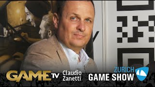 Game TV Schweiz - Interview mit Claudio Zanetti | Nationalrat SVP | Zürich Game Show