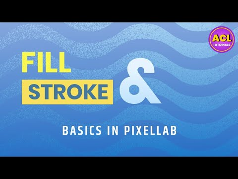 Understanding Fill , Stroke , Texture , Fonts And Position Of Text In Pixel Lab Mobile App