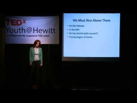 Jessica Greer Morris at TEDxYouth@Hewitt