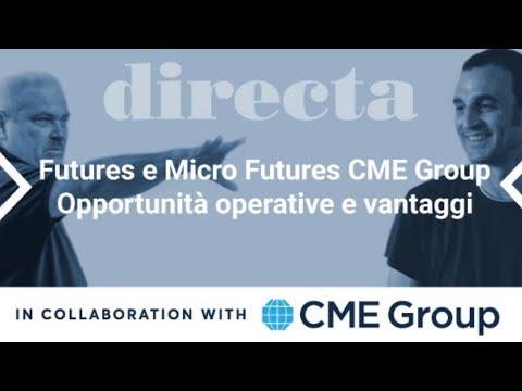 Il trading sui Futures e Micro Futures CME Group Opportunità operative e vantaggi