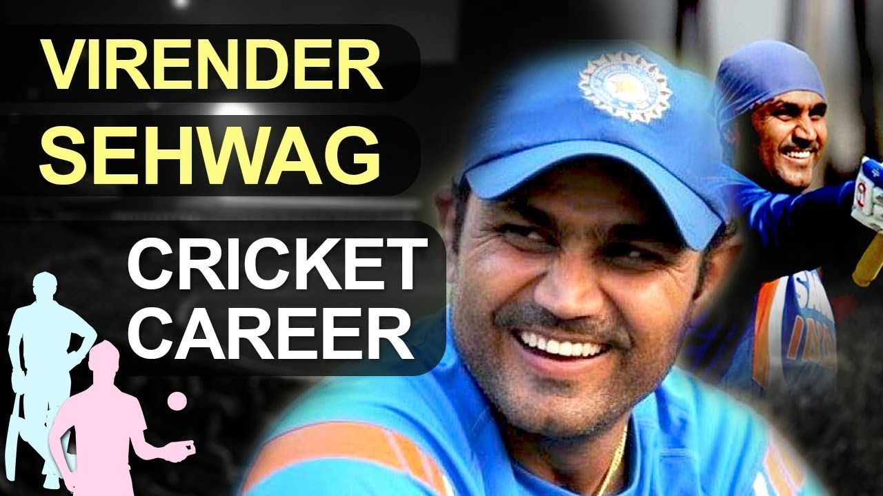 Virender Sehwag Biography & Cricket Career  Records and Awards  Wisden Leading Cricketer 2008