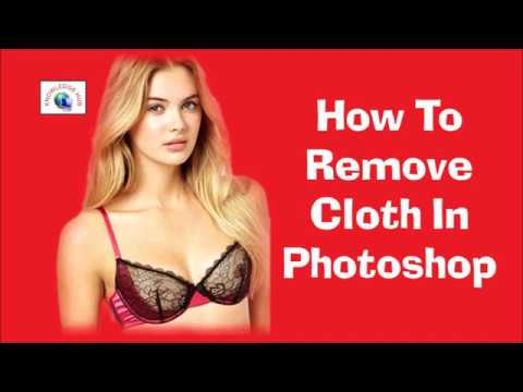How To Remove Clothes In Photoshop Youtube