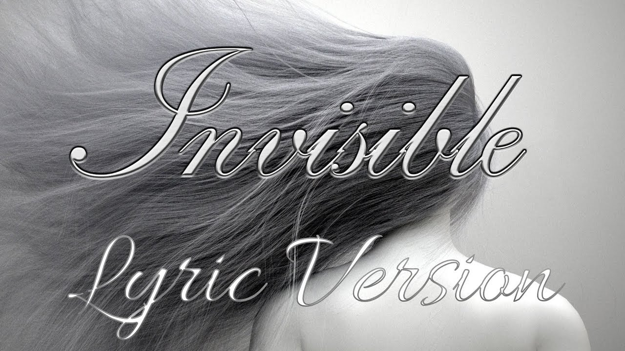Nightcore - Invisible (Lyric Video) - 1 Hour Version [Bad copy, uploading a  good copy ]