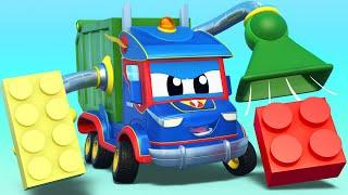 Играем в ЛЕГО с СУПЕР ГРУЗОВИКОМ! | Супер Грузовик | Car City World App