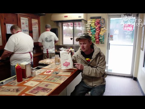 Cozy Inn Hamburgers in Salina, KS with Road Trip Story