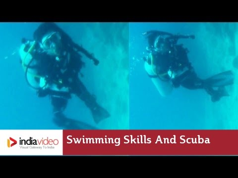 Swimming Skills and Scuba Diving