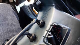 Ford fíesta koltuk ısıtma montajı. Döşeme altı ped montajı dahil.. püf noktaları.