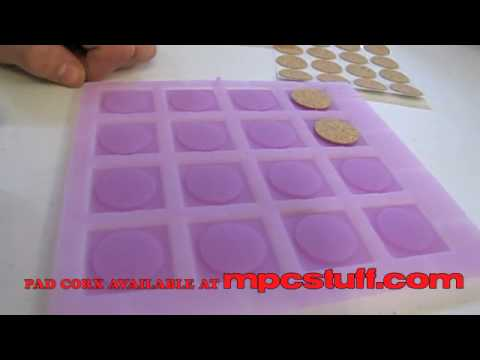 MPCstuff Pad Corx Pad Sensitivity Upgrade Kit for MPD and MPC Install