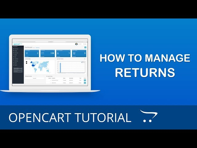 How to Manage Return Statuses in OpenCart 3.x