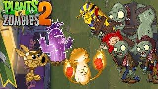 Plants vs. Zombies 2 ANIMATION New Plants 5 (Cartoon)Nuevas plantas 5 animado