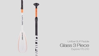 Video: Unifiber Glass Sup Paddle 3 PC Explorer 170 - 220
