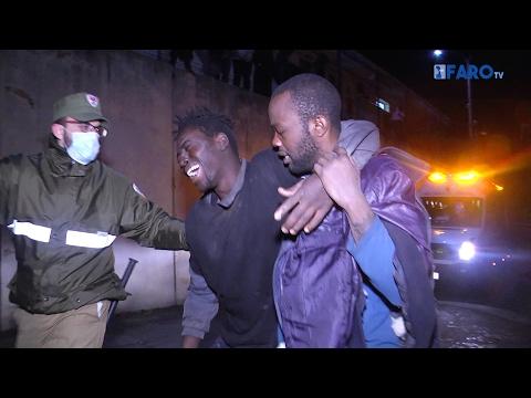 Nueva entrada de inmigrantes en Ceuta en menos de 72 horas