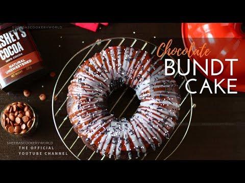 Easy Chocolate Bundt Cake   Homemade Chocolate Bundt Cake Video Recipe