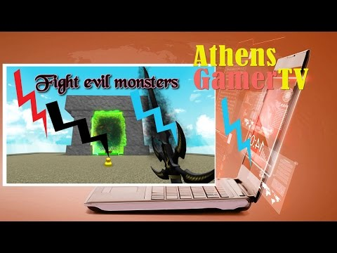 Roblox fight evil monsters AthensgamerTV by Athens Thanakrit
