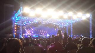 Arijit Singh live in concert. Indore. 30 April.2016