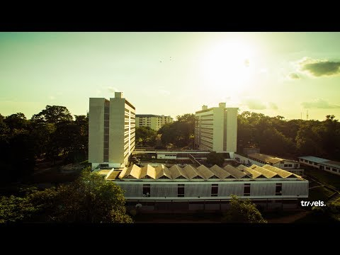 KNUST Campus Golden hours. (beautiful campuses)
