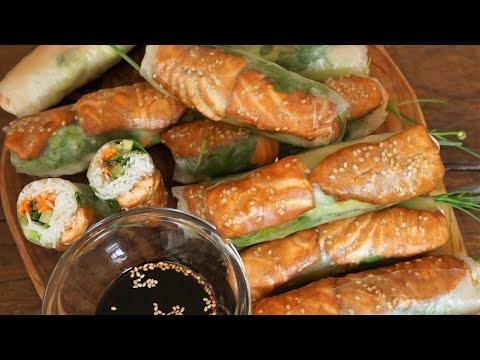 rouleaux-de-printemps-au-saumon-sauce-teriyaki---cooking-with-morgane