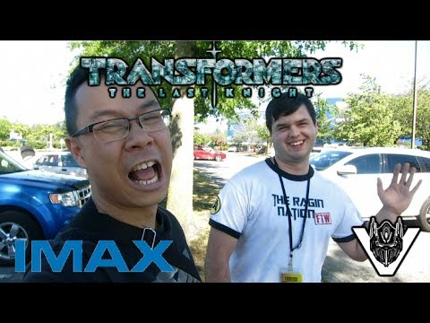 Watched Transformers The Last Knight in IMAX 3D with Ragin Nation fan!!!