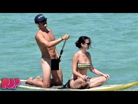 Orlando Bloom Photographed Fully Nude With Katy Perry