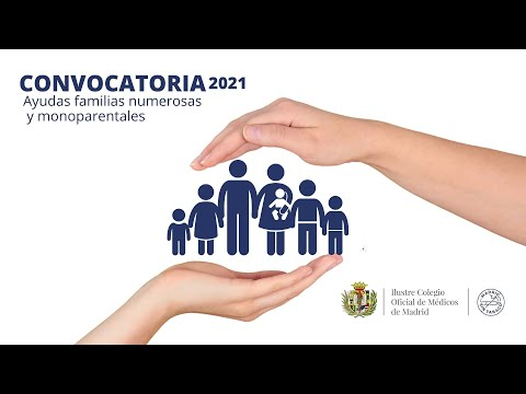 Vídeo de ayudas para familias numerosas y monoparentales