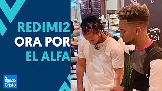 Redimi2 prays for El Alfa | Redimi2 cries while singing 😭