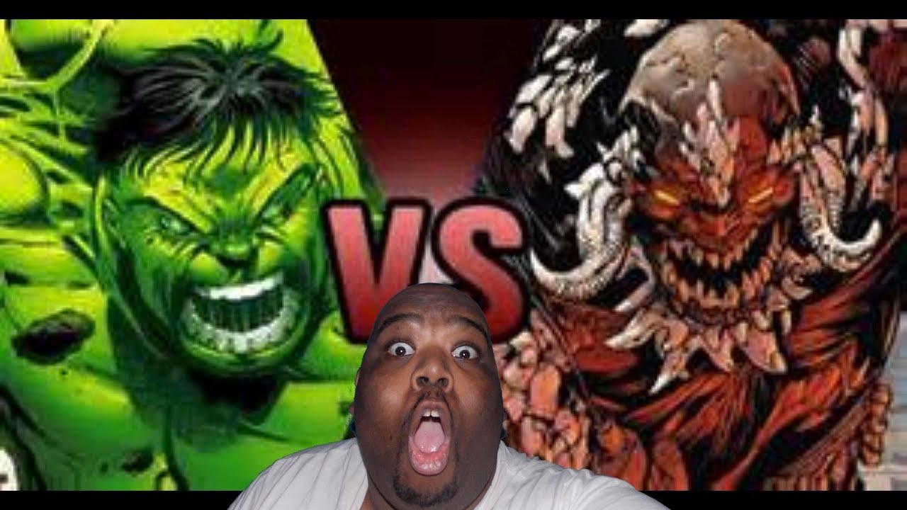 DEATH BATTLE : WHO WOULD WIN...?? THE HULK VS DOOMSDAY ... Doomsday Vs Hulk Who Wins